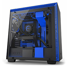 NZXT H700i Smart Case Matte Black/Blue