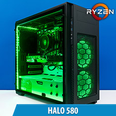 PCCG Halo 580 Gaming System
