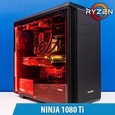 PCCG Ninja 1080 Ti Gaming System