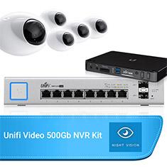 Ubiquiti UniFi Surveillance Bundle - Dome Camera