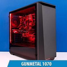 PCCG Gunmetal 1070 Gaming System