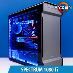 PCCG Spectrum 1080 Ti Gaming System