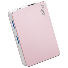 Flujo CH-17 USB Type-C Hub with Power Delivery - Rose Gold