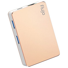 Flujo CH-17 USB Type-C Hub with Power Delivery - Gold