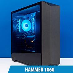PCCG Hammer 1060 Gaming System
