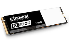 Kingston KC1000 480GB NVMe PCIe SSD