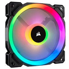 Corsair LL120 RGB 120mm Independent RGB PWM Fan Black