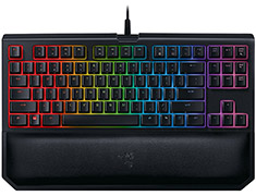 Razer BlackWidow TE Chroma V2 Mech Keyboard Yellow Switch