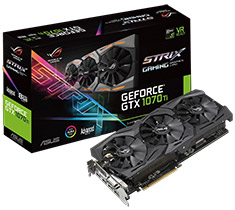 ASUS ROG GeForce GTX 1070 Ti Strix Aura Gaming 8GB