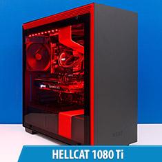 PCCG Hellcat 1080 Ti Gaming System