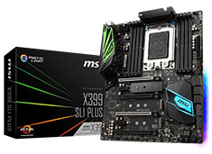 MSI X399-SLI-PLUS Motherboard