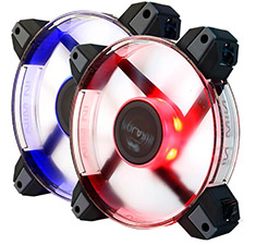 In Win Polaris RGB Case Fan 120mm Twin Pack