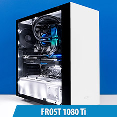 PCCG Frost 1080 Ti Gaming System