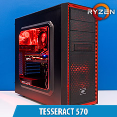 PCCG Tesseract 570 Gaming System