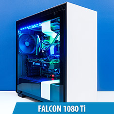 PCCG Falcon 1080 Ti Gaming System