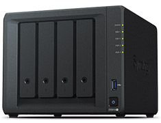 Synology DiskStation DS918+ 4 Bay NAS with 4GB RAM