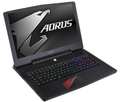 Gigabyte AORUS X7 17.3in QHD G-Sync Gaming Notebook [1080-701S]