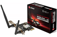 MSI Herald-AC Intel AC 8265 WiFi Card