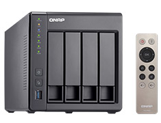 QNAP TS-451+ 4 Bay NAS with 8GB Ram