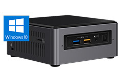 Intel NUC 7 Enthusiast Core i7 Mini PC with Windows 10