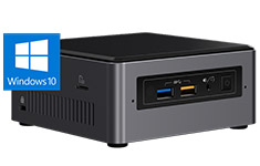 Intel NUC 7 Home Core i3 Mini PC with Windows 10
