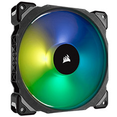 Corsair ML140 PRO RGB 140mm Mag Lev PWM Fan