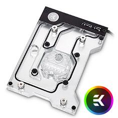EK FB ASUS ROG ZE RGB Monoblock Nickel