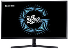 Samsung 27HG70 27in HDR QLED 144Hz FreeSync Gaming Monitor