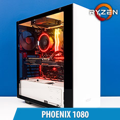 PCCG Phoenix 1080 Gaming System