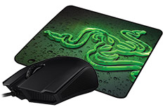 Razer Abyssus 2000 and Goliathus Speed Mouse Pad Bundle