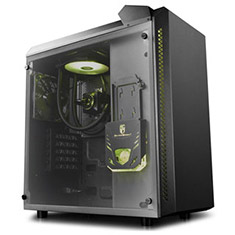 Deepcool Baronkase AIO Liquid Cooled MATX Case Black