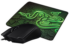 Razer Abyssus 2000 and Goliathus Control Mouse Pad Bundle