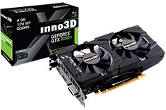 Inno3D GeForce GTX 1050 Ti X2 4GB