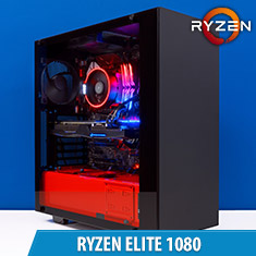 PCCG Ryzen Elite 1080 Gaming System