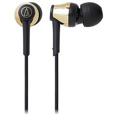 Audio Technica ATH-CKR35BT Bluetooth In-Ear Headphones Gold