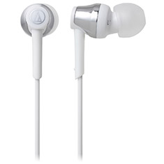 Audio Technica ATH-CKR35BT Bluetooth In-Ear Headphones Silver