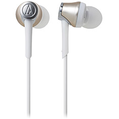 Audio Technica ATH-CKR55BT Bluetooth In-Ear Headphones Gold