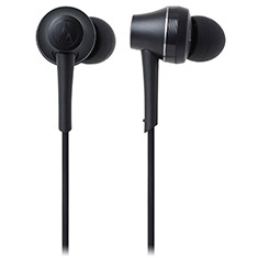 Audio Technica ATH-CKR75BT Bluetooth In-Ear Headphones Black