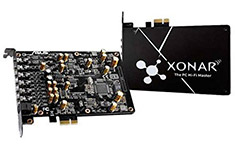 ASUS Xonar AE 7.1 PCI-E Sound Card