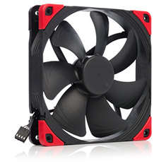 Noctua 140mm NF-A14 PWM Chromax Black Swap Edition 1500RPM Fan