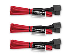 Noctua NA-SEC1 Chromax Red 30cm 4Pin PWM Ext Cable (4 Pack)