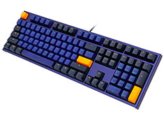 Ducky One 2 Horizon PBT Blue Mech Keyboard - Cherry Red
