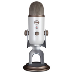 Blue Microphones Yeti USB Microphone Vintage White