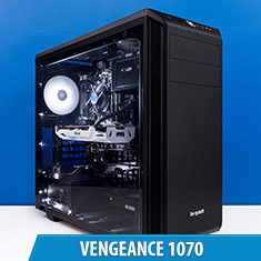 PCCG Vengeance 1070 Gaming System