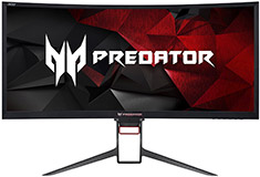 Acer Predator Z35P Curved 35in 100Hz G-Sync VA Gaming Monitor