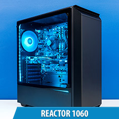 PCCG Reactor 1060 Gaming System