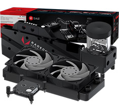 EK Fluid Gaming A240R Liquid Cooling Kit