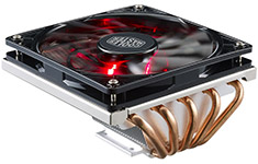 Cooler Master GeminII M5 LED Low Profile CPU Cooler