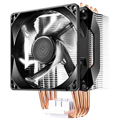 Cooler Master Hyper H411R CPU Cooler White LED