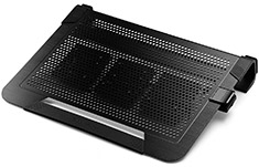 Cooler Master Notepal U3 Plus Notebook Cooler Black